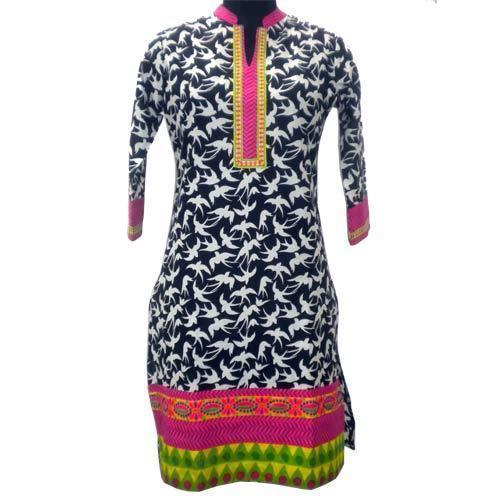 Ladies Stylish Printed Kurti