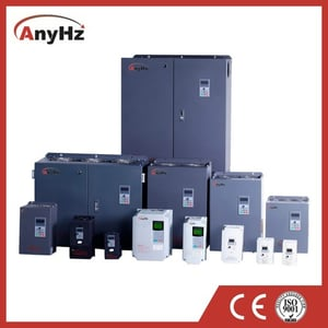 Single 3 Triple Phase Output HP KW 220 240 380 480 V Frequency Converter Water Pump Convey Belt Elevator AC Motor Controller VFD