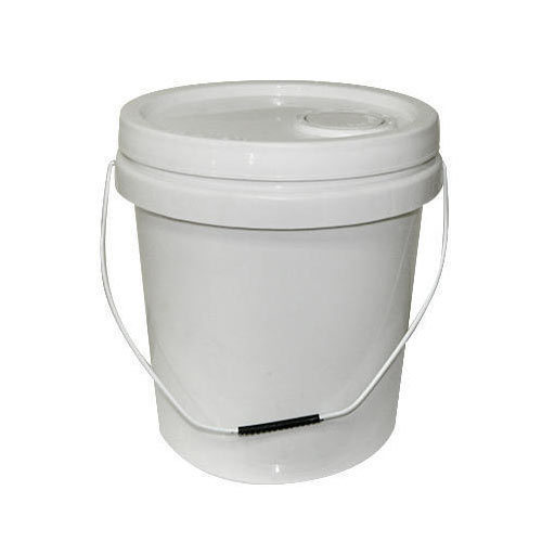 White Color Plastic Bucket