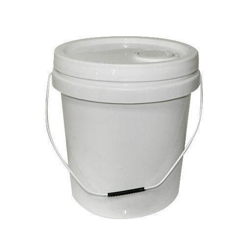 White Color Plastic Bucket
