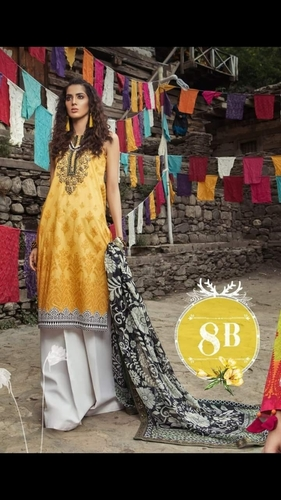 542894242b Maria B Prints Ladies Embroidered Pakistani Suits in Delhi, Delhi ...