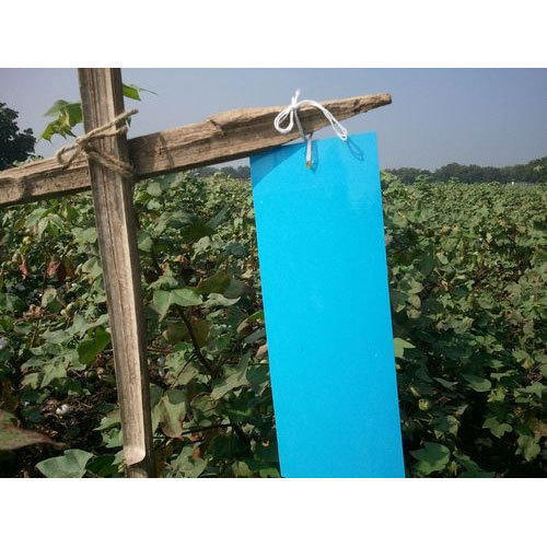 Plastic Blue Sticky Insect Trap