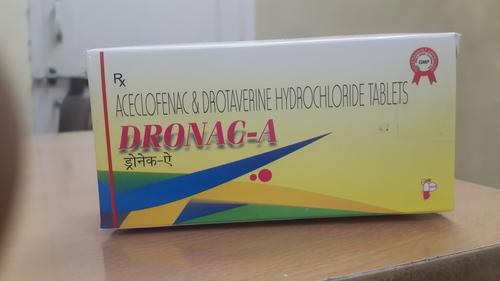 Drotaverine & Aceclofenac Tablets