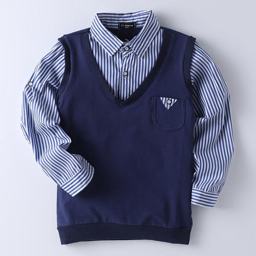 Cool Navy Shirt And Sweater