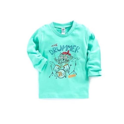 Kids Printed Full Sleeve T-Shirt