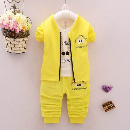 Trendy Design Yellow Kids Dress
