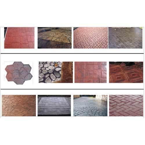 Abrasion Resistance Neocrete Stamped Concrete
