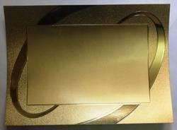 Gold Foil Trophy Stickers