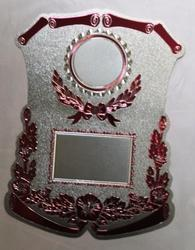 Silver Foil Trophy Stickers