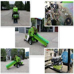 Silage Baler Fully Automatic Hydraulic System 9ZDY-520