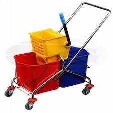 High Quality Plastic Mop Wringer Trolley