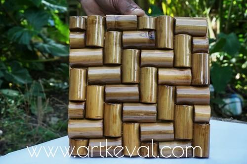 Beautifully Crafted Bamboo Wall Panels
