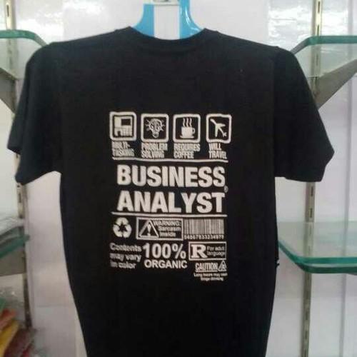 Corporate Mens Black T Shirt