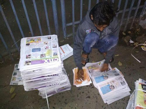 News Paper Insert Advertising Service