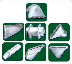 SS Casting Nozzles And Fabrication
