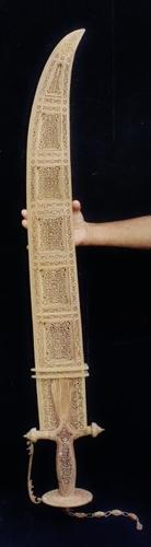Sandalwood Carved Sword