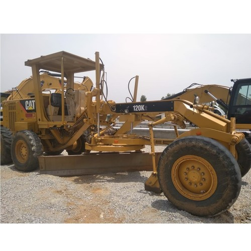 Caterpillar Yellow Cat Certified Used 120K2 Motorgrader With Low Hour Usage