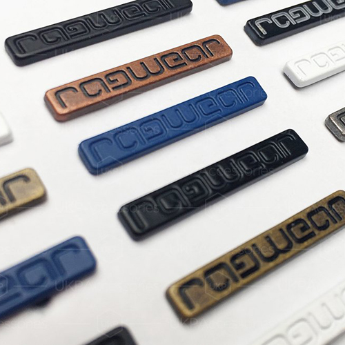 Durable Metal Clothing Labels