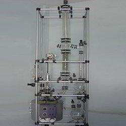Glass Reaction Cum Distillation Unit