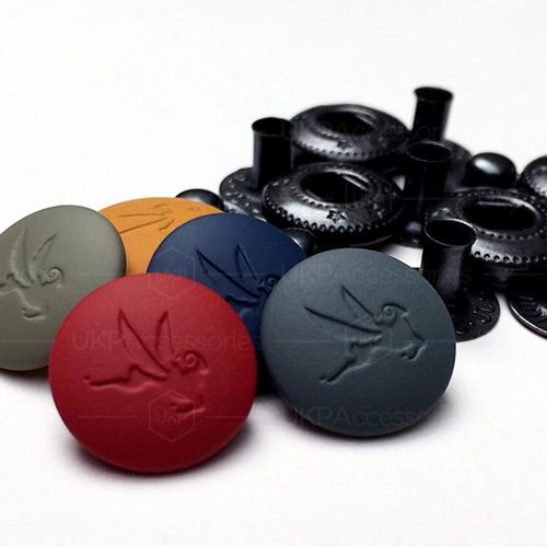 Rubber Coated Snap Fastener Set