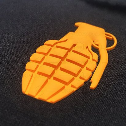 Acrylic 3D Silicone Heat Transfer Label For Clothing