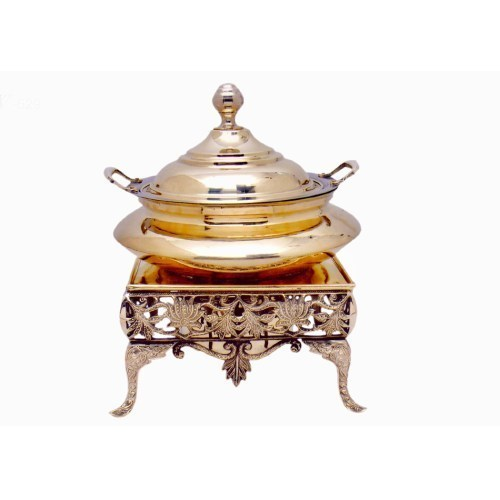Brass Plated Chafing Dish
