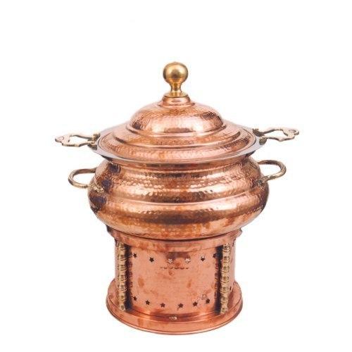 Designer Copper Chafing Dish