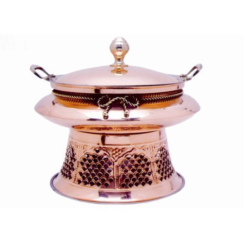 Fancy Copper Chafing Dish
