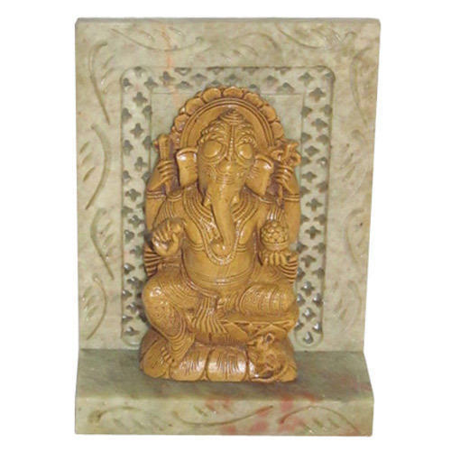 Ganesh Marble Colored Statue