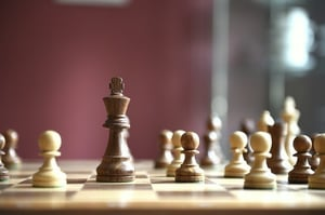 Wooden Deluxe Chess Board