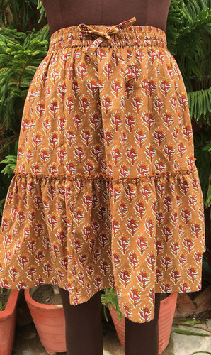 Trendy Ladies Cotton Skirt