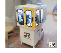 CNC Single Spindle Key Bitting Machine With Radius Cutting