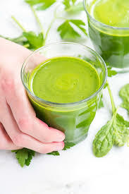 Fresh and Healthy Vegetable Juice