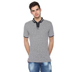 Low Price Half Sleeves Collar T-Shirt