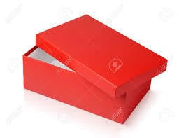 Red Color Shoe Boxes