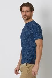 Round Neck Bamboo T Shirt With Short Sleeves