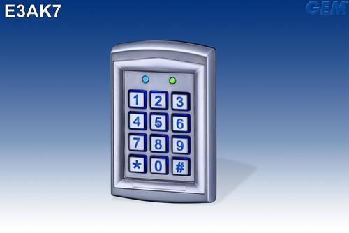 Bluetooth (BLE) Access Control Keypad E3AK7