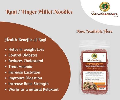 Ragi / Finger Millet Noodles