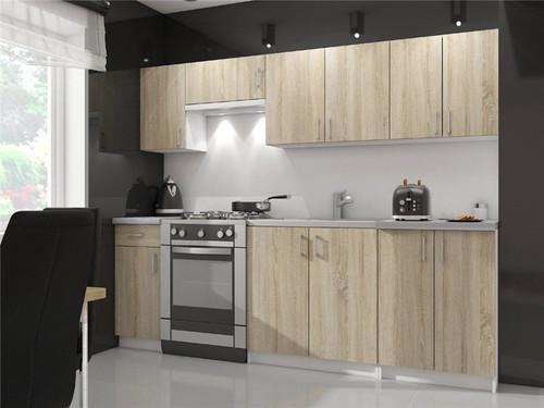 Modular Wood Kitchen Cabinet