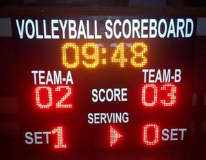 Volleyball LED Score Board