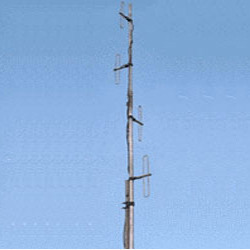 Omni Directional Exposed Dipole Antenna