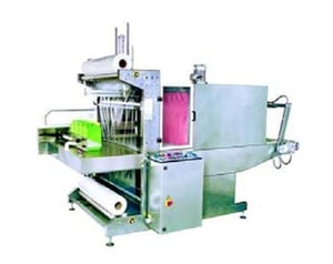 Automatic Bundling and Shrink Wrapping Machine