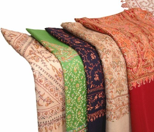 Ladies Printed Colorful Shawls