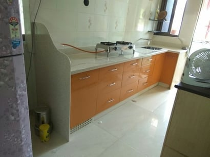 Acrylic Solid Surface Kitchen