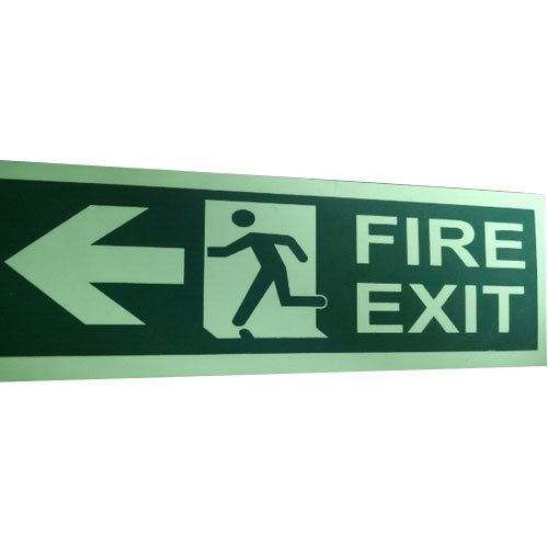 Fire Exit Directional Signage