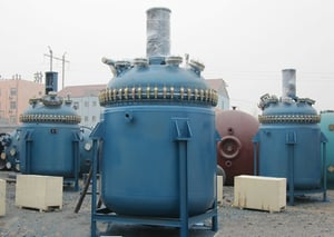 Glass Lined Reactor For Chemical Plant