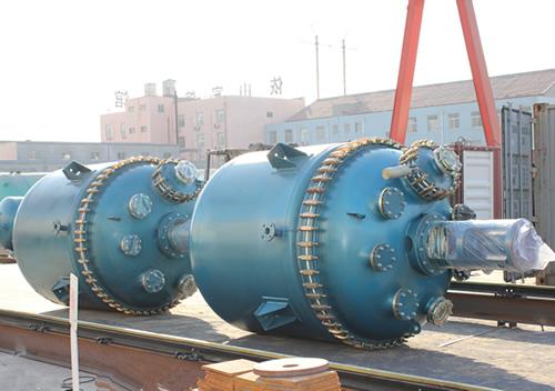 Used Enamel Reactor