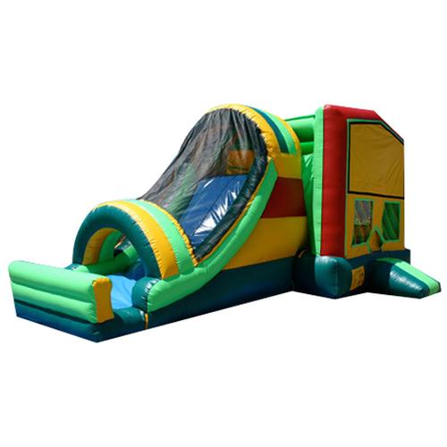 Pvc 4*8M Custom Sized Inflatable Slide Castle