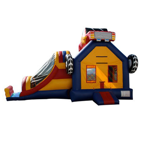 Custom Lovely Inflatable Castle 4*8M Size