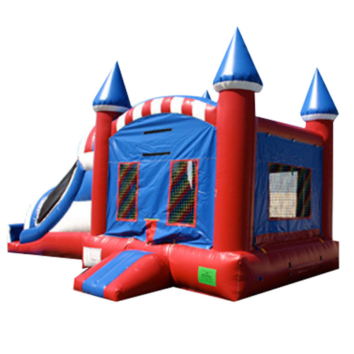 Strong Cute Inflatable Castle Durable